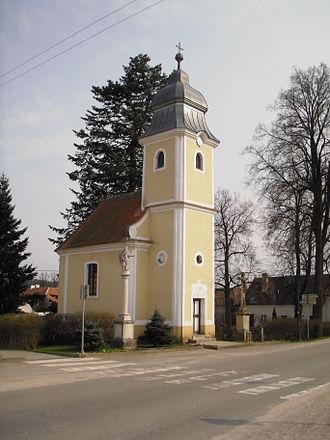 Dešov - Image: Desov Chapelle St Mary