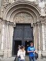 Detalle del Pórtico de las Platerías de la Catedral de Santiago de Compostela.JPG