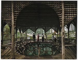 Pen Mar Park - Glen Afton Spring, near Pen Mar Park, in the early 20th century