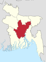 Dhaka in Bangladesh.svg