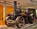 Die Fowler Dampfpluglokomotive von 1918 im Agrarium - Bild FLMK.jpg