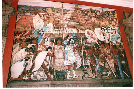 Diego Rivera Mural Palacio Nacional Mexico best Mexico City museums