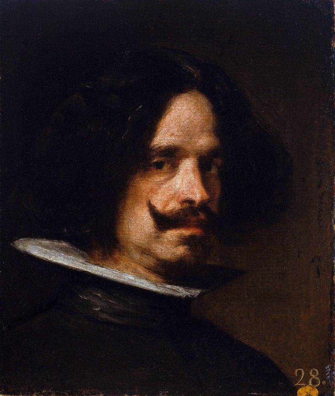 Diego Velázquez Autorretrato 45 x 38 cm - Colección Real Academia de Bellas Artes de San Carlos - Museo de Bellas Artes de Valencia