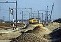 Diemen spoorwerkzaamheden 1991 1.jpg