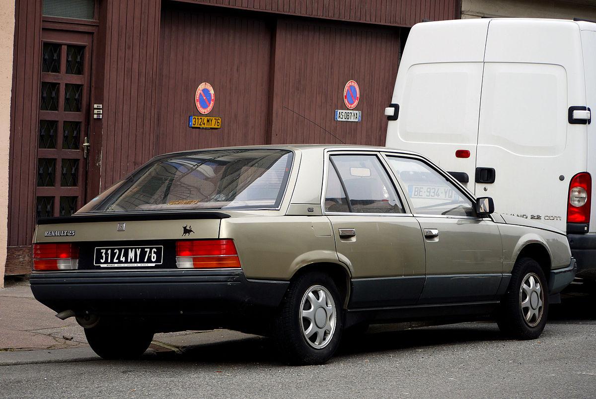 Renault 25 Wikipedia