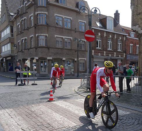 Diksmuide - Ronde van België, etappe 3, individuele tijdrit, 30 mei 2014 (A014).JPG