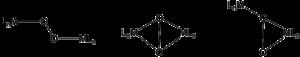 Transition metal dioxygen complex - Image: Dimetal dioxygen complexes (molecular diagrams)