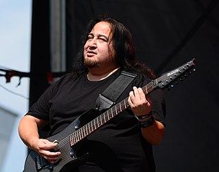 Dino Cazares Mexican-American musician