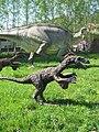 Dinosaur models in Bałtów Jurassic Park.jpg