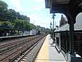 Dobbs Ferry MNRR station; High Street from SB Platform-2.jpg
