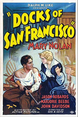 Mary Nolan - Poster for Docks of San Francisco (1932)