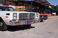 Dodge Monaco 1977 Roscoe P Coltrane Dodge Charger 1969 RT General Lee Dukes RNoses TBS 09Feb2014 (14399697400).jpg