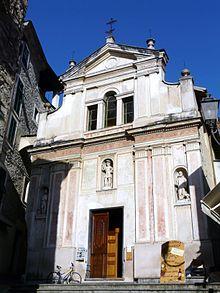 L'oratorio di San Sebastiano nel quartiere del Borgo