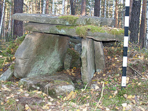 Megaliths in the Urals - Image: Dolmen Ural
