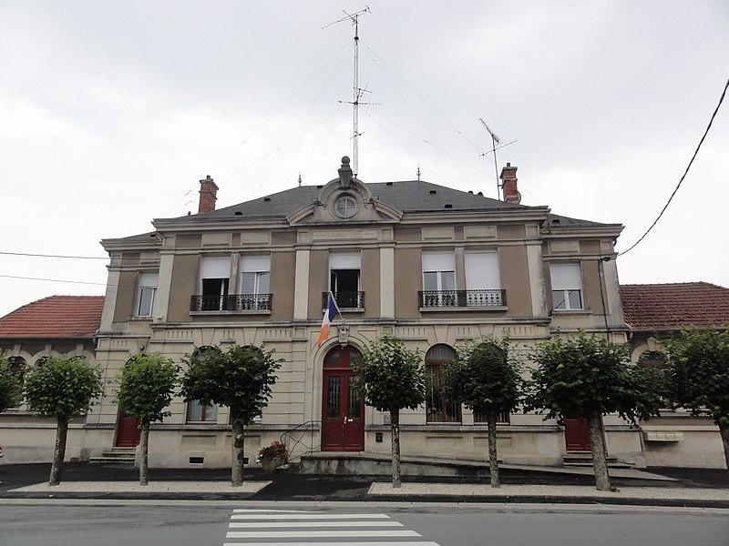 Dombasle-en-Argonne (Meuse) mairie