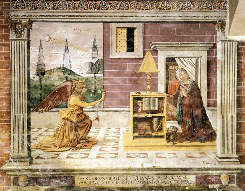 Domenico Ghirlandaio - Annunciation - WGA08776