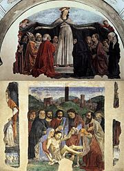 Domenico Ghirlandaio: Cappella Vespucci