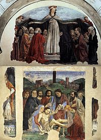 Domenico ghirlandaio, Cappella vespucci 00.jpg