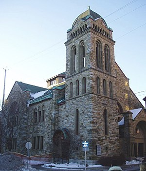 Dominion-Chalmers United Church - Image: Dominion Chalmers United Church Ottawa