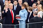 Donald Trump swearing in ceremony.jpg