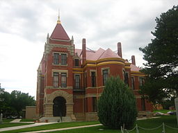 Donley County Courthouse in Clarendon.