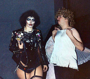 The Rocky Horror Picture Show cult following - Dori Hartley and Sal Piro at the Waverly Theatre in New York in 1977