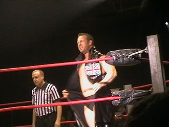 Doug Williams (wrestler) - Williams at a TNA House Show in Dublin in January 2009