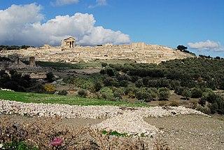 Dougga archaeological site in Tunisia