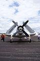 Douglas EA-1E Skyraider HeadOn tall SNF 16April2010 (14627180151).jpg