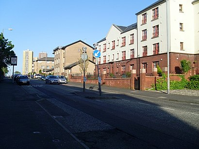 How to get to Castlemilk with public transport- About the place