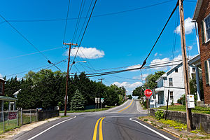 Downsville, Maryland - Image: Downsville MD