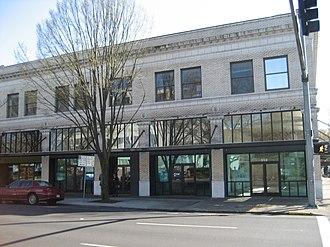 Pacific Building (Salem, Oregon) - Image: Downtown Salem Oregon building