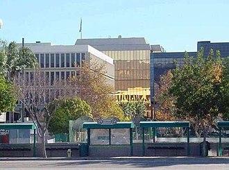 San Bernardino County, California - Image: Downtown San Bernardino