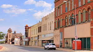 Stamford, Texas - Downtown Stamford