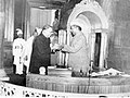 Dr. B. R. Ambedkar, Chairperson, Drafting Committee of Indian Constitution after presenting the constitution to the first President Dr. Rajendra Prasad.jpg