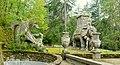 Dragon and elephant - Parco dei Mostri - Bomarzo, Italy - DSC02594.jpg