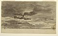 Drawing, Seascape with Fishing Trawler, Cullercoats, England, 1881–82 (CH 18175009).jpg