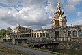 Dresden, der Zwinger Dm vanaf de Ostra Allee IMG 8177 2018-08-14 18.01.jpg