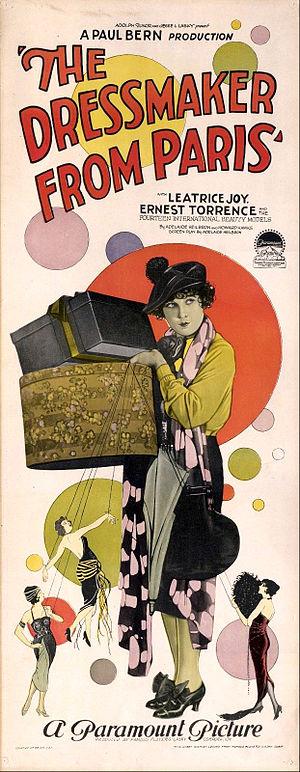 The Dressmaker from Paris - Film poster