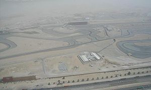 Al Barsha - Image: Dubai Autodrome on 1 May 2007