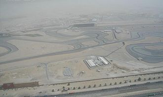 Al Barsha - Image: Dubai Autodrome on 1 May 2007
