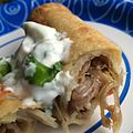 Duck Carnitas and Potato Taquito (16066516585).jpg