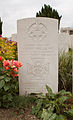 Dud Corner Cemetery, Grave of Sgt. H. Wells.jpg