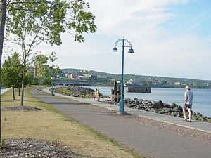 Duluth Canal Park Lakewalk