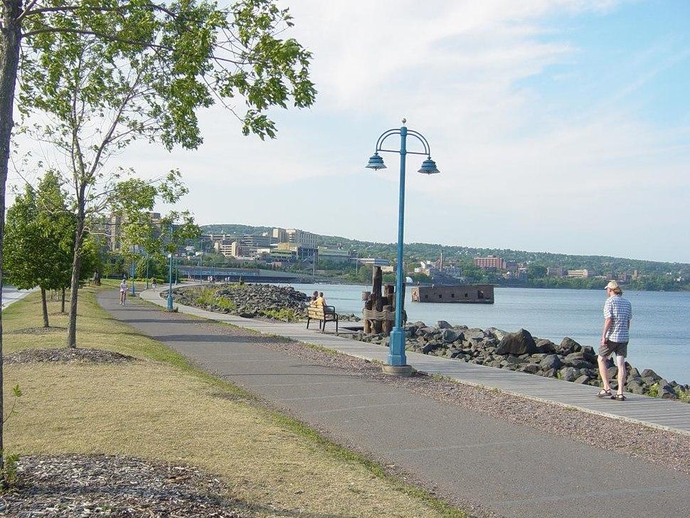 Duluth Canal Park Lakewalk