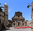 Duomo di viterbo, esterno 01