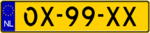 Dutch plate yellow NL semitrailer.png