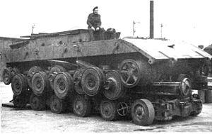 Panzerkampfwagen E-100 - Image: E 100a