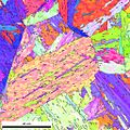 EBSD orientation map of ferrous lath martensite.jpg