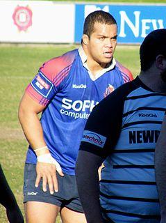 Eddie Aholelei New Zealand rugby union footballer